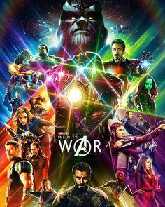 Avengers - Infiniti War - Universo Marvel