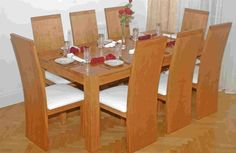 Furniture : Dining Table with Natural Wood ~ HeimDecor