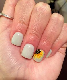 Sunflower Nails Nails In 2018 Pinterest Nails Nail Art And