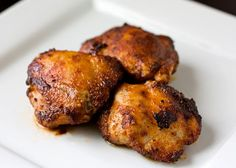 Sweet and spicy chicken, Spicy and Chicken thighs on Pinterest