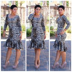 DIY Flounce Dress + Pattern Review B5985 - Mimi G Style