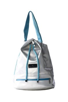 aaed62f1a66 Keep things stress-free with the Fashion Shape Bag from adidas by Stella  McCartney. A bucket-style bag that you can cinch up or leave open.