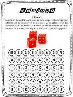 jeu de calcul mental cycle 2 et cycle 3