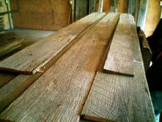 Want to cover floor in old barn wood!