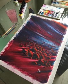 Watercolor Paintings by Adem Potas