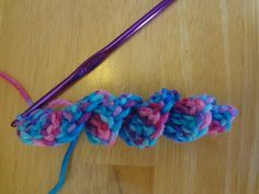 How to Crochet A Curlicue. Free  tutorial.