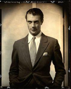 la classe absolue de gary cooper:Edward Steichen 1930