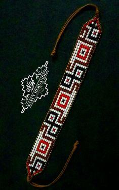 Bead Loom Designs, Bead Loom Patterns, Peyote Patterns, Beading Patterns, Bead Jewellery, Diy Jewelry, Beaded Jewelry, Bead Loom Bracelets, Beaded Bracelet Patterns