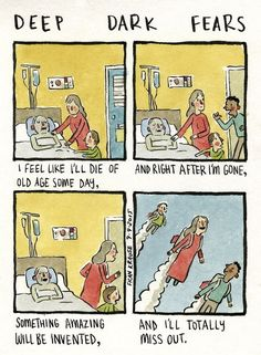 People's Deepest And Darkest Fears Turned Into Comics (New Pics)