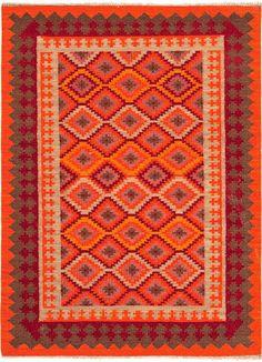 Anatolia Izmir Red/Medium Tabasco Area Rug