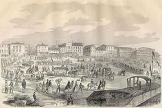 Image of evacuation from Louisville, Ky., Civil War October 11, 1862