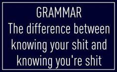 One of my grammar pet peeves...
