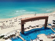 Beach Palace Cancun, Mexico- the site of Tanya's 2014 wedding!  WHEW HEW!!! CANNOT WAIT!  40 of us going...wedding on the BEACH!