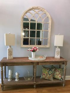 Our Everett Foyer Table Impresses With A Victorian Inspired Architectural  Style.