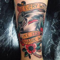.@stevewood_soos   Live every week like its shark week. Thanks @Jaxin Hall always a pleasur...   Webstagram