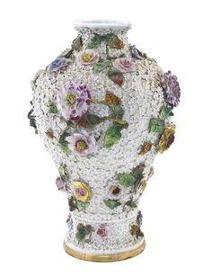 A Meissen Marcolini Period Porcelain Vase