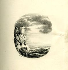 Towering mountains and vast oceans become vowels and consonants in this series found deep within the archives of the British Museum. Illustrated by a Charles Joseph Hullmandel sometime between 1818 and 1860, the series contains 26 landscapes contoured to become the letters of the alphabet.