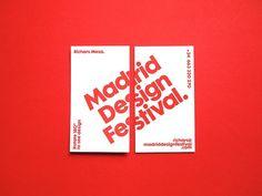 Madrid Design Festival — IS Creative Studio