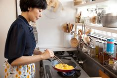 my inspiration ☆♥ Seoul Apartment, Japanese Kitchen, Housekeeping, Home Deco, Decoration, Kitchen Dining, Food Photography, New Homes, Kitchen Appliances