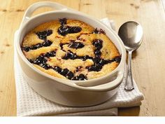 Yum! Check out the Simple and Sweetie Blueberry Cobbler from Lucky Leaf. I'm going to try it, and you should too!