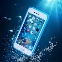KISSCASE For iPhone 6 6s 5 5s SE 6 Plus 6s Plus Waterproof Case Utral Slim Swimming Surfing Shockproof Full Body Protective Capa
