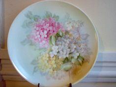 Sevres Porcelain Plate Bavaria Hortensia by VintageTimeCapsule, $40.00
