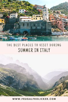Heading to Italy in summer? To make the most of your holiday, head for the coast, lakes, or mountains during summer in Italy. #europe #italy #travel #summer #italytravel Italy Destinations, Amazing Destinations, Italy Travel Tips, Travel Europe, European Travel, Travel Guide, Beautiful Places To Visit, Cool Places To Visit, Things To Do In Italy