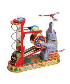 I love retro toys.  Elephant and Ball Game.  $28 from Schylling