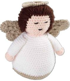 Crocheted Angel Amigurumi - FREE Crochet Pattern / Tutorial