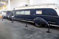 Reo Tractor and Curtiss Aerocar    1938 REO  and 938 Curtiss Aerocar  This ultra-streamlined Reo tractor was specially built to tow a Curtiss Aerocar, one of the earliest production fifth wheel trailers.
