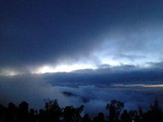 Bromo view before sunrise