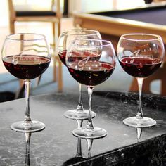 66a23344a1e48 Engraved Personalized Red Wine Glass Set of 4 Glasses!