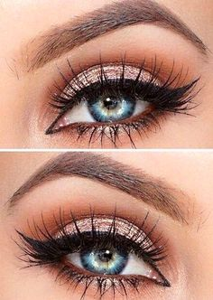 Makeup Fleek + Rose Gold + Feline Liner + Lashes More - Miladies.net