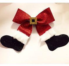 Arco de Navidad Santa Claus rojo blanco y por EverAfterFairytales