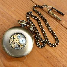 Steampunk Victorian Compass pocket watch nautical pirate pendant