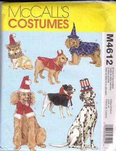 Dog Costumes Patterns