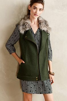 Pretty faux fur vest #anthrofave http://rstyle.me/n/rkna5nyg6