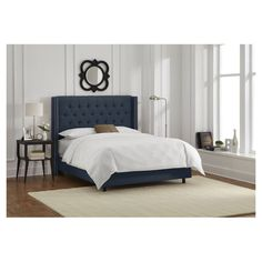 Halifax Bed in Navy