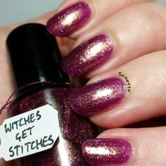 Octopus Party Nail Lacquer. Witches Get Stitches.