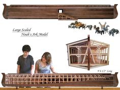 This is the largest Noah`s Ark model in the store