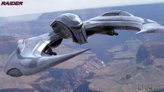 Pierre Drolet Sci-Fi Museum - Cylon Raider