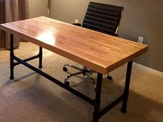 Picture of Reclaimed Bowling Alley Desk
