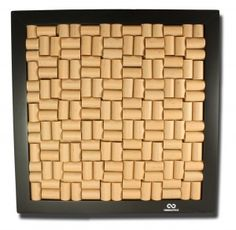 This is 'pinteresting'... a wine cork pin board. Sweet!!