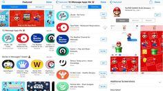 iMessage App Store Is Here With Super Mario Sticker Pack and Morehttps://t.co/jnNYeNGje6 http://pic.twitter.com/WIkDR0lcYZ   App M0bile (@AppDevM0bile) September 13 2016