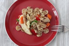 Hodgson MIll Pasta Contest Oriental Chicken Pasta Salad - By Leah Kanaan