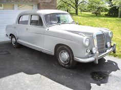 Preserved Ponton: 1959 Mercedes-Benz 220S - http://barnfinds.com/1959-mercedes-benz-220s/