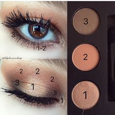Makeup Looks Dramatic Goth - Makeup Makeup Eye Looks, Eye Makeup Steps, Simple Eye Makeup, No Eyeliner Makeup, Natural Makeup, Eyeshadow, Makeup Eyes, Makeup Trends, Makeup Inspo