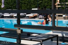 Take in the sunshine while sitting in our pool's shallow end! The perfect spot to work on your tan!
