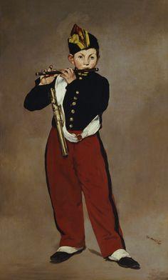 Edouard Manet - The Fifer (artist study: Manet) via AO