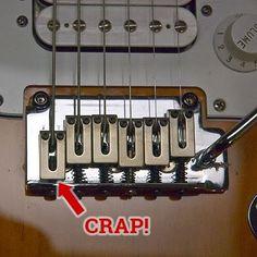 Guitar string won't intonate